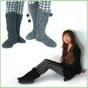 この秋冬、あなたの足もとをコーデするのはこれ♪☆あったかCUTEなニットブーツ■2色★