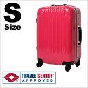 スーツケース 1年保証 送料無料 TSAロック搭載 SUITCASE 軽量 アルミフレームタイプ 小型 旅行かばん Sサイズ(国内旅行〜海外旅行) 小回り 4日5日 『5025-53』【FS_708-1】