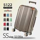 スーツケース 機内持ち込み キャリーバッグ キャリーケース 小型 SS サイズ 1日 2日 3日 容量拡張機能 ダブルキャスター メーカー1年修理保証 LEGEND WALKER レジェンドウォーカー スーツケース『5122-48』