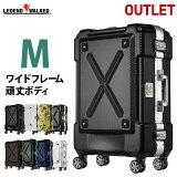 アウトレット 訳あり 激安 スーツケース M サイズ 超軽量 PC100%素材 フレーム キャリーケース キャリーバッグ キャリーバック 旅行用かばん 中型 5日 6日 7日 無料受託手荷物 158cm 以内 アウトドア 『B-6302-62』