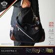 【ポイント10倍 12月9日15:59まで】オロビアンコ OROBIANCO ショルダーバッグ バッグ ビジネス カジュアル 2way 1気室 メンズ レディース レザー ナイロン 「SILVESTRA-C」『orobianco-90602』