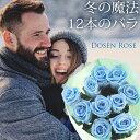 ダーズンローズ ダズンローズ プリザーブドフラワー ダーズンフラワー ダズンフラワー プロポーズ 結婚 バラの花束『12本』1ダースのバラ 送料無料 プリザーブドフラワー 花束
