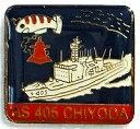 【海上自衛隊グッズ】艦バッチ/潜水艦救難母艦ちよだ【ピンズ】 - Marine Art Tokyo