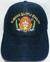 【送料無料】海上自衛隊グッズ 【オールメッシュ帽】横須賀造修補給所/一般用【帽子】
