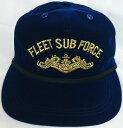 【送料無料】海上自衛隊グッズ 【スコードロンキャップ】潜水艦隊司令部/一般用【帽子】【ビロード地】