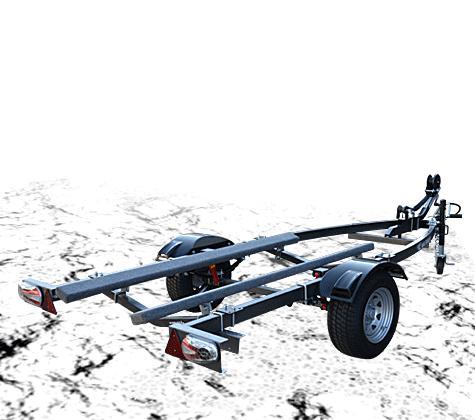 MAX TRAILER/マックストレーラーロプロス 1艇積 500kgスチール※キャンセル不可※代引き不可
