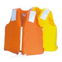 子供用救命胴衣NS-12L-2オレンジ(新基準適合品)の画像