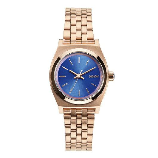 NIXON ニクソン腕時計 SMALL TIME TELLER ROSE GOLD/COBALT NA3991748-00/レディース【】【RCP】 アクセサリー感覚で使用できる、ミニマムで優美なウィメンズモデル。