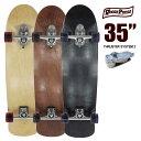 ウッディプレス スケートボード WOODY PRESS WOODY35インチ/ SK8 サーフスケート サーフィン【RCP】