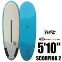 Hawaiian Pro Designs ドナルドタカヤマ SURFTECH SCORPION 2 5'10/サーフボード ショートボード エポキシ サーフィン【RCP】