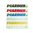 【お買い物マラソン4/10はP最大31倍】 MARINER LOGO STECKER マリーナロゴステッカー カラー9色 車 サーフボード シール オシャレ かっ..