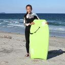 【6/1は最大P25倍】 ボディーボード 子供 大人 初心者 リーシュセット 41インチ キッズ スマイルボディボード ボディーボードリーシュコード セット Smile Bodyboard
