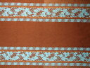 Hawaiian cloth brown sky blue tear relief line / hula hawaii Ann miscellaneous goods [RCP] 02P11Jun13