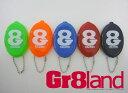 Gr8land グレイトランド コインケースキーホルダー / サーフブランドウェア サーフィン【RCP】fs04gm02P31Aug14