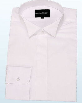 ★ ★ Wing collar shirt! White dress shirt! For wake-up t-shirt, groom for shirts, formal shirts! S, M, L, 2 L, 3 L, 4 L, 5 L, 6 L, 7 L W-SC