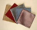 Free shipping  silk pocket handkerchief   (checked pattern) [is necessities for chief hit item  four Malle, a party, a banquet.]Silk chief PT-03 [strong yen reduction YDKG-kd]