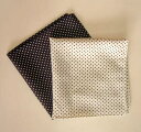 A pocket handkerchief dot (waterdrop) [fashion!] Postage 90 yen  silk chief PT-04 [strong yen reduction YDKG-kd]