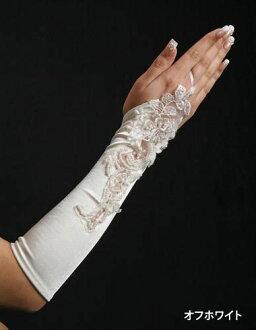 ★★ Satin (glove), nail gloves, Gantt let, fingerless gloves, satin gloves, satin glove, wedding, wedding ceremony, costume play, fingerless gloves, fingerless m-03