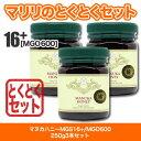 (とくとくセット) マヌカハニー MGO600 MGS16+ (250g) 3本セット モラン博士公式認定 無添加 非加熱 はちみつ 【送料無料】