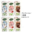 ショッピングお試しセット プロヴァメル (6本セット) 3種類お試しセット まとめ買い セット オーガニック 豆乳ドリンク 豆乳飲料 豆乳 豆乳ミルク 植物ベース 有機 ソイミルク ストロベリー チョコレート 250ml