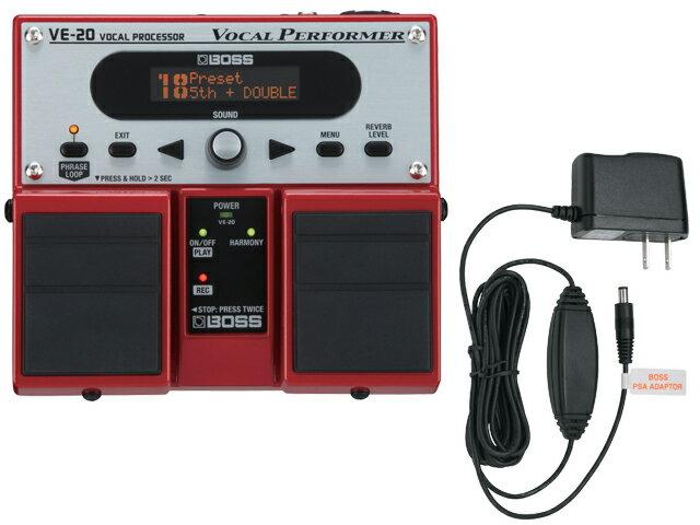 BOSS VE-20 + 純正ACアダプター「PSA-100S2」セット(新品)【送料無料】