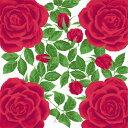 【メール便対応】【綿小風呂敷】MISATO ASAYAMA  (50cm)バラ レッド風呂敷・手ぬぐい3枚以上まとめ買いで5%OFF!