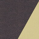 ポリエステル一越織風呂敷両面染 尺三巾(約48×50cm)サメ小紋(紫)/無地(ベージュ)