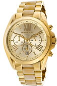 MICHAEL KORS WOMENS STAINLESS STEEL YELLOW GOLD HORN ACCENT CHRONO WATCH MK5722 マイケルコース Michael Kors Bradshaw Chronograph Gold-Tone MK5722 腕時計 ブラッドショークロノグラフゴールドトーン アナログ 女性