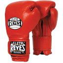 REYES レイジェス ボクシング グローブ ボクシンググローブ レッド 赤 メキシコ製 本革 12オンス 14オンス 18オンス