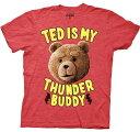 Ted テッド オフィシャルTシャツ レッド 映画 グッズ ホワイトデー 誕生日プレゼント