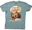 Ted テッド オフィシャルTシャツ ライトブルー 映画 グッズ ホワイトデー 誕生日プレゼント