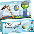 Angry Birds Blue Bird versus Helmet Pig アングリーバード ブルーバード ヘルメットピッグ