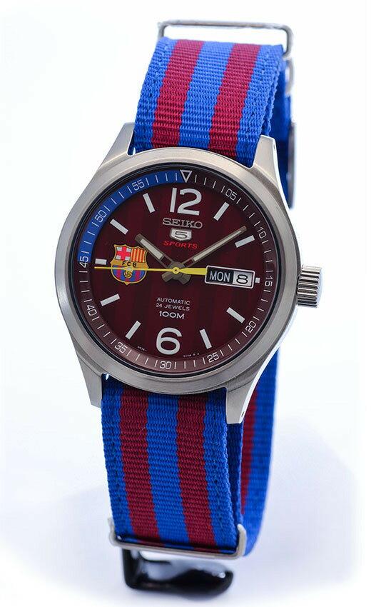 SEIKO セイコー SEIKO 5 バルセロナコラボ SRP305K1 自動巻き&手巻き 腕時計 SEIKO 5 セイコー5 バルセロナコラボ SRP303K1