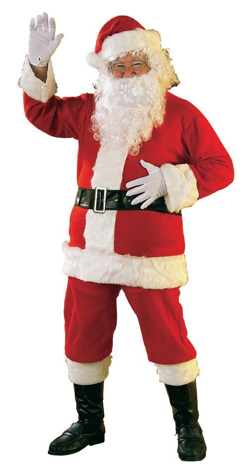 【在庫処分セール】豪華6点セット!!本格的 サンタ サンタクロース 誕生日 赤 レッド 男性 メンズ コスチューム コスプレ 男性 メンズ 大人用 大きいサイズ ビッグサイズ 仮装 衣装 学園祭 文化祭