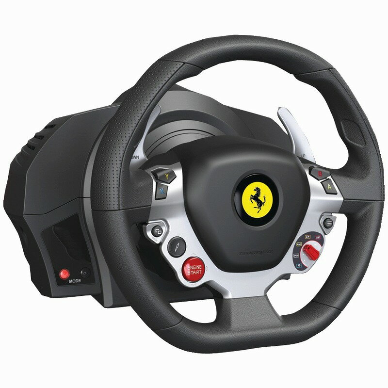 日本最速でお届け!!XBOX ONE エックスボックス ワン Thrustmaster TX Racing Wheel Ferrari 458 Italia Edition