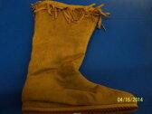 インディアン Boots Tan Native American Flat シューズ 靴 大人用 アクセサリー ハロウィン コスチューム コスプレ 衣装 変装 仮装