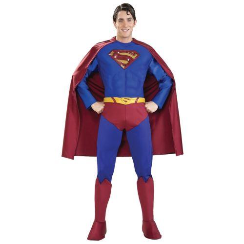 Superman スーパーマン 大人用 男性用 メンズ スーパーヒーロー ハロウィン コスチューム コスプレ 衣装 変装 仮装