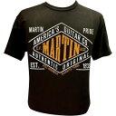 マーチン Martin Pride Authentic T-Shirt Black