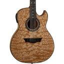 ディーン Dean Exhibition Quilt Ash 12-String Acoustic-エレキギター エレクトリックギター Aphex Gloss Natural
