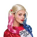 映画 スーサイド・スクワッド Suicide Squad ハロウィン ウィッグ コスプレ衣装 レディス 大人 女性 ハーリーン・F・クインゼル ハーレイ・クイン 仮装 変装 イベント コスチューム スーサイドスクワッド