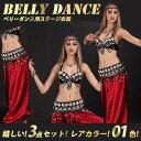 ベリーダンス 3点セット 衣装 ステージ衣装 民族衣装 ダンス コスチューム コスプレ エジプト ベール ブラトップ ベリーダンス衣装【3点セット】