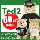 TED2 テッド2 テッド TED ぬいぐるみ 24インチ 60cm Rレイテッド版 タンクトップ/ユニフォーム/ダイビング 実物大 トーキング 映画 グッズ テディベア くまのぬいぐるみ おしゃべり くま 誕生日 プレゼント 世界一ダメなテディベア モフモフしようぜ!!