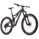 サンタクルーズ バイシクル/Santa Cruz Bicycles Bronson Carbon XX1 ENVE Complete Mountain Bike - 2015 Satin Black/Magenta/アウトドア/バイク/自転車/マウンテンバイク/Mountain Bikes