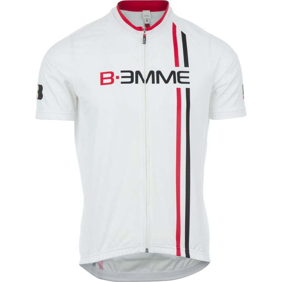 Biemme Sports Item 2 Jersey - Short-Sleeve - Men's White Red Black アウトドア メンズ 男性用 バイクウェア バイクジャージ 自転車 Biemme Sports Item 2 Jersey - Short-Sleeve - Men's