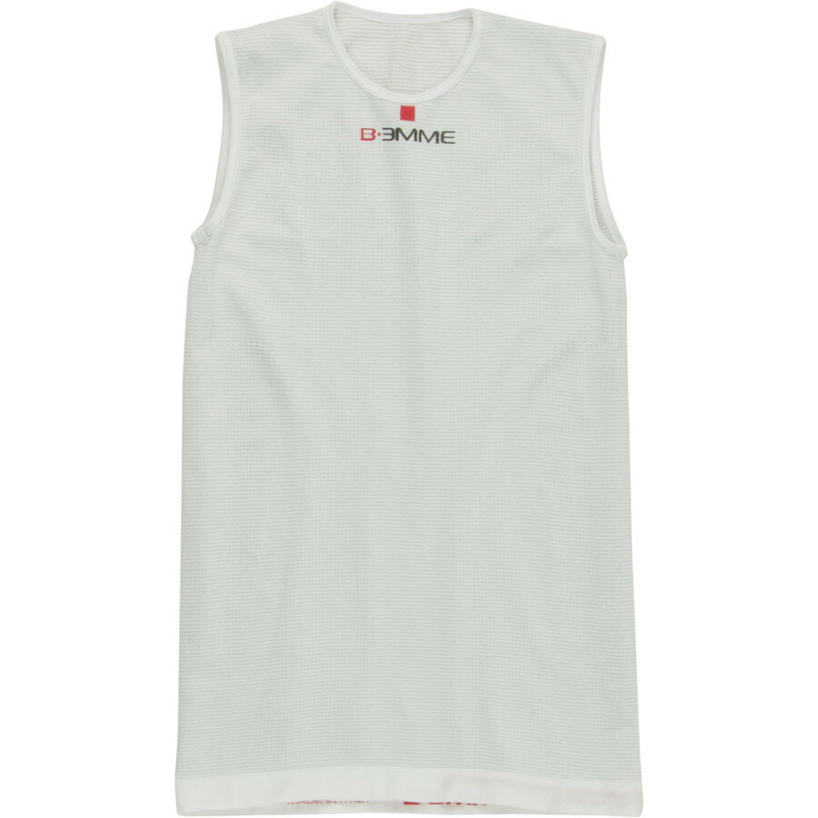Biemme Sports Tank Underwear Top - Men's White アウトドア メンズ 男性用 バイクウェア 自転車 ベースレイヤー Biemme Sports Tank Underwear Top - Men's