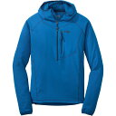 Outdoor Research Whirlwind Hooded Jacket - Men's Glacier Baltic есеєе║ ├╦└н═╤ евеже╚е╔ев е╜е╒е╚е╖езеы е╕еуе▒е├е╚ е│б╝е╚ евеже┐б╝ Softshell Jackets