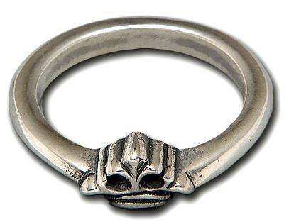 ビルウォールレザー BWL Bill Wall Leather R341CROWN  X-スモール クラウンリング 指輪 シルバー カスタム ハンドクラフト ビルウォールレザー BWL Bill Wall Leather X-Small Crown Ring Bill Wall Custom Handcrafted Rings