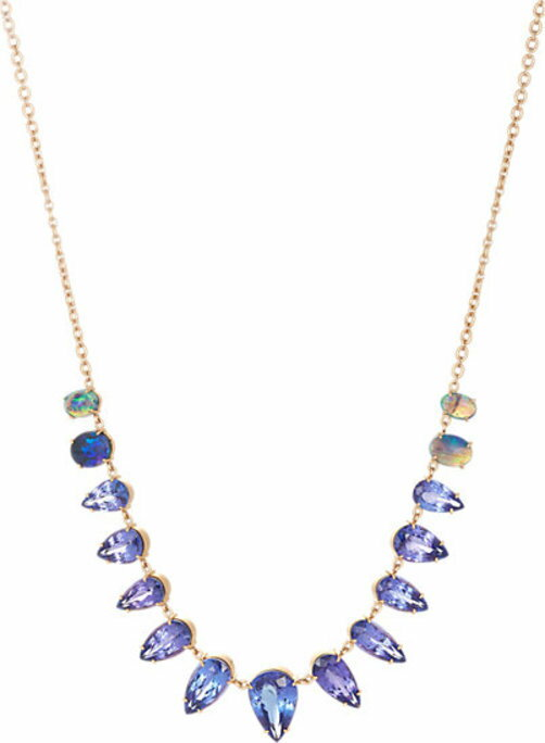 Irene Neuwirth Diamond Collection Mixed-Gemstone Necklace
