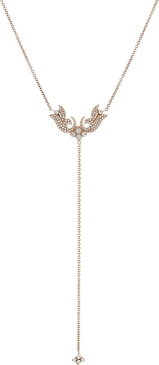Sara Weinstock French Tulip Lariat Necklace