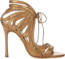 女裝 - Chelsea Paris Snakeskin Ada Strappy Sandals
